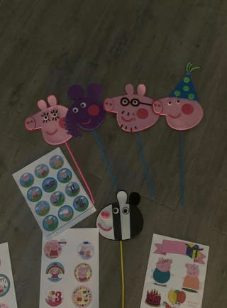 DECORACION PEPPA PIG