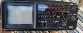 Radio/TV vintage portatil