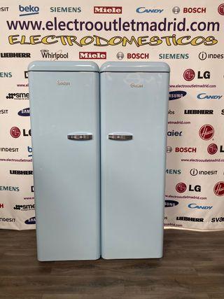 Conjunto frigorífico + congelador vintage