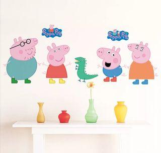 PEPPA PIG VINILO PARED/ ARMARIOS NUEVO
