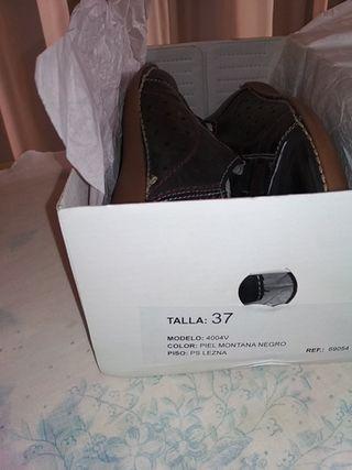 zapatos mujer BRAN'S Shoes, talla 37, piel, nuevos
