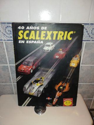 Libro 40 años de scalextric