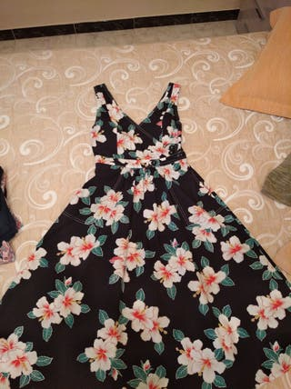 Vestido de mango midi talla xs