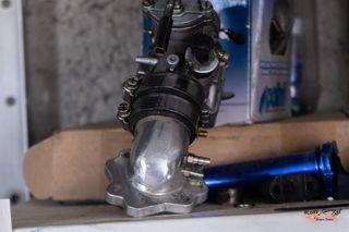 carburador 24 oko + tobera aluminio