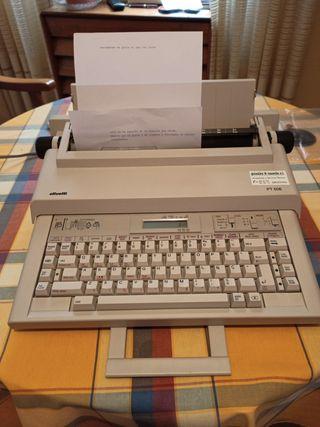 Maquina de escribir Olivetti PT506