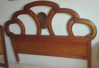 Cabezal madera cama