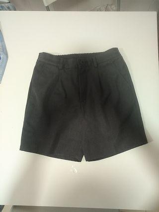 Uniforme pantalón corto gris niño 13 años