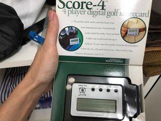 Score 4 golf