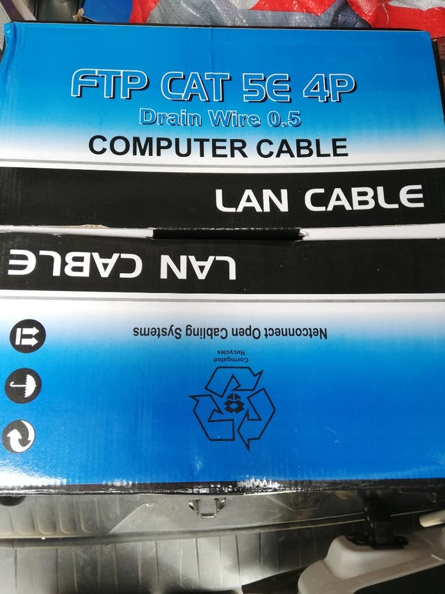 cable de red ftp cat 5e 305 metros