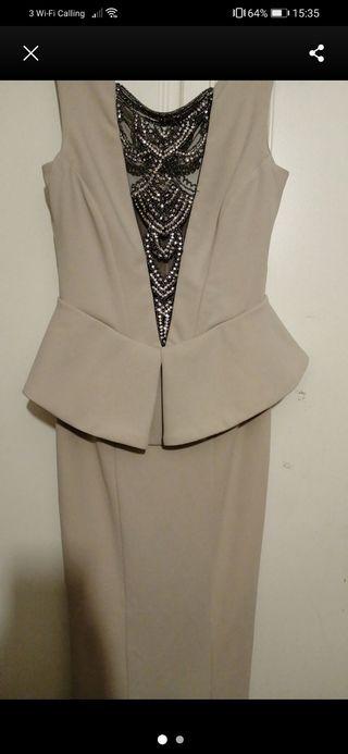 body con maxi dress