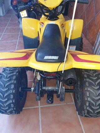 moto quad masai 50,