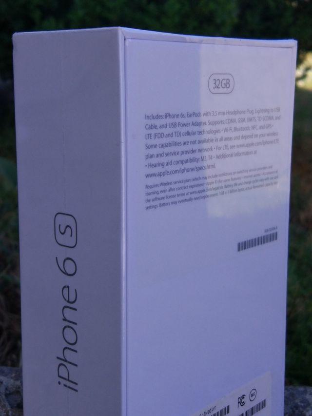 IPHONE 6S NUEVO,32GB
