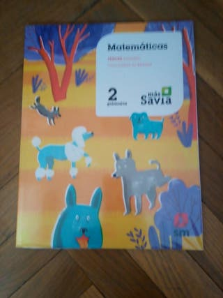 Libro de Matemáticas Segundo Primaria