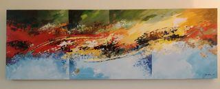 Cuadro Acrílico ( arte abstracto único )