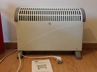 Calentador eléctrico, bajo consumo.