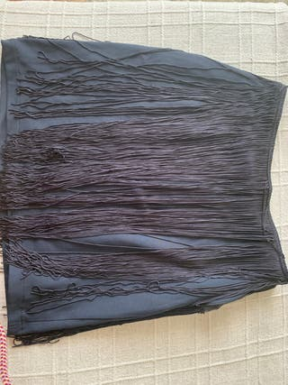 Falda de flecos