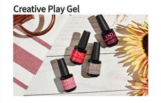Creative Play Colour CND gel polishs