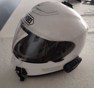casco moto Shoei Qwest con intercomunicador