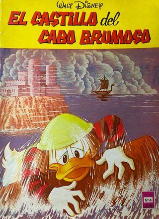 Cómic Disney del Pato Donald