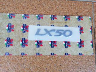 Pegatina Relieve Plástico Vespa LX 50
