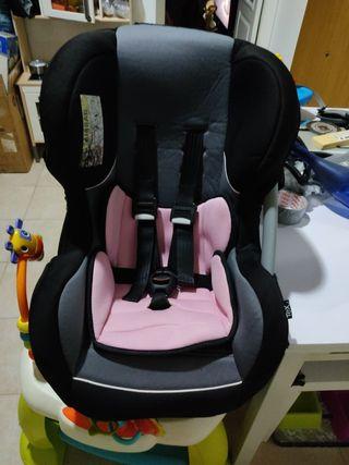 silla coche niña/niño reversible