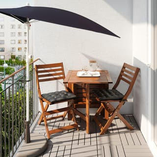 Sombrilla +base para sombrilla jardín/terraza ikea