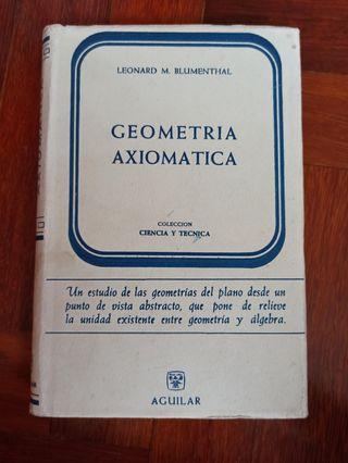 Geometría axiomática