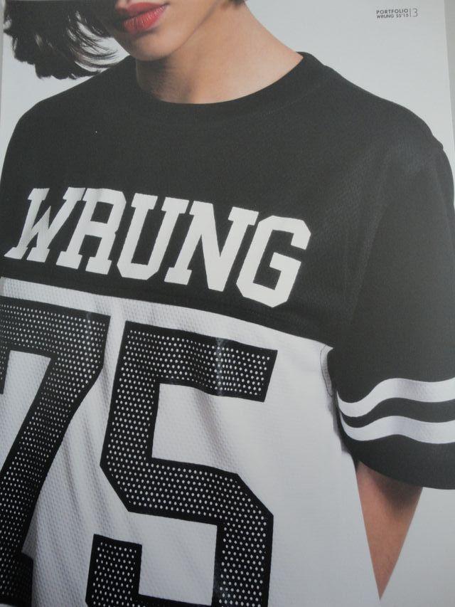 Camiseta deportiva futbol americano Wrung nueva XS