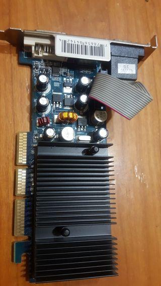 NVidia GF 6200 256mb DDR2 TV DVI VGA AGP