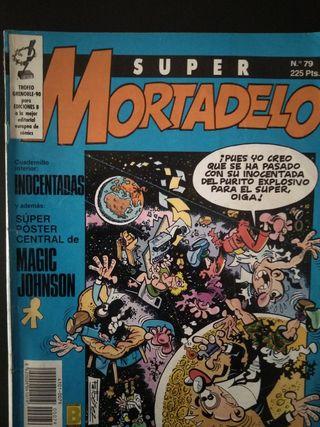 Lote de comics Mortadelo