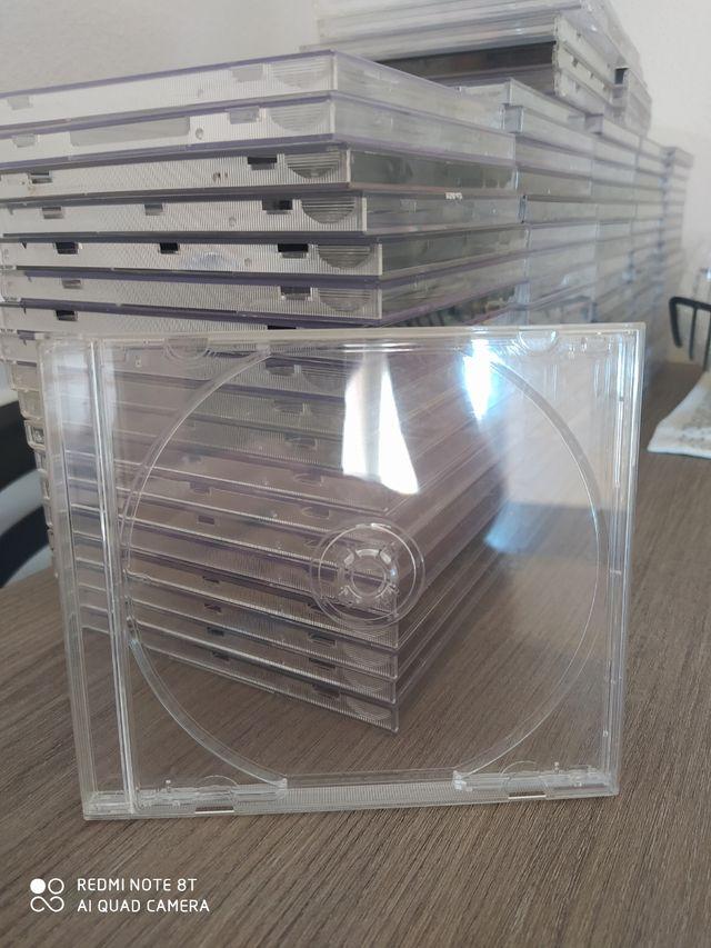 Cajas de CD.