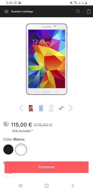 tablet samsung galaxy tab4