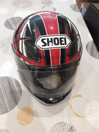 Casco moto Shoei impecable por fuera