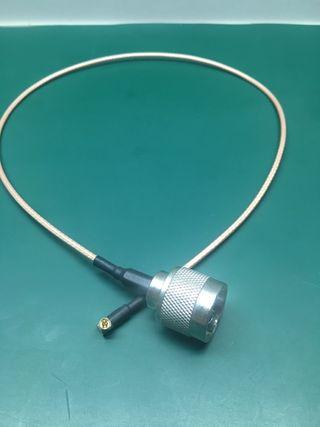 Pigtail cable antena wifi N macho a MC-card Macho