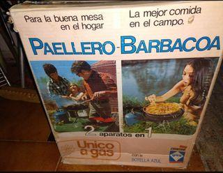 PAELLERA + BARBACOA