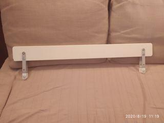 valle madera para cuna o cama blanca ikea