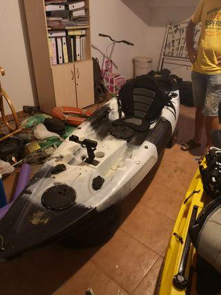 kayak de paseo y pesca