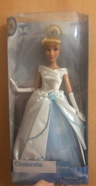 Muñeca Cenicienta novia disney store
