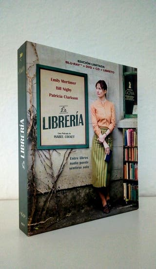 La Libreria blu-ray + dvd + cd + libro. ENVIOGRATI