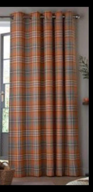 66x72 blackout wool tweed curtains