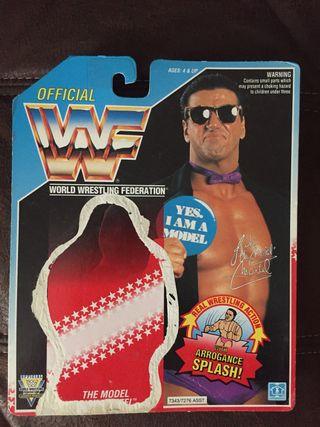 WWF Rick the Model Backing card