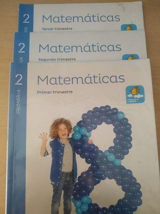 Libros Matemáticas 2° Primaria