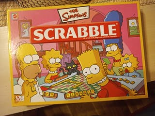 Juego de mesa Scrabble de Los Simpsons
