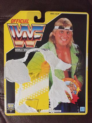WWF Owen Hart Backing card
