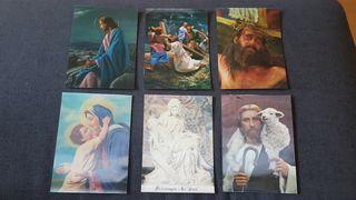 Toppan Top Stereo postales lenticulares religiosas