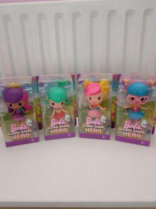 Barbie video game heroes doll 4inch