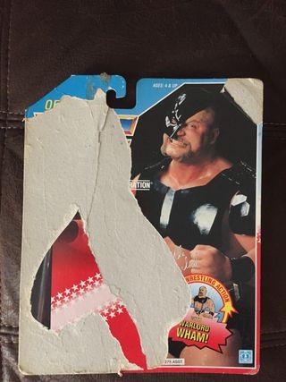 WWF Warlord Backing card