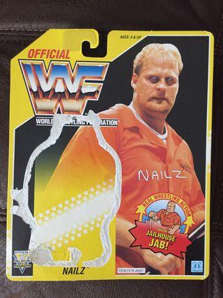 WWF Nailz Backing card