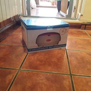Calentador de Parafina,incluye 1 caja de parafina.