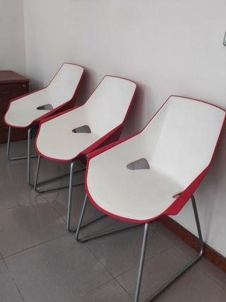 3 sillas de diseño